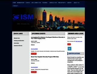 ism-atlanta.org screenshot