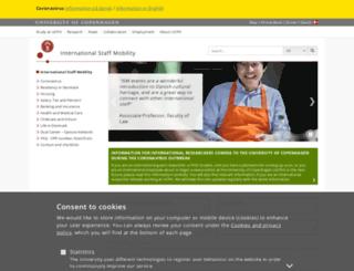 ism.ku.dk screenshot