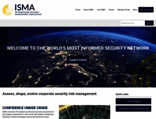 isma.com screenshot