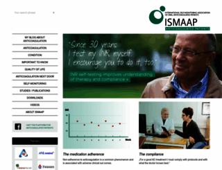 ismaap.org screenshot