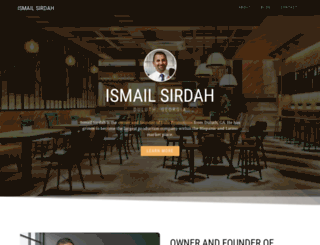 ismailsirdah.com screenshot