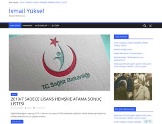 ismailyuksel.com screenshot