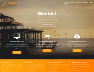 ismedia.fr screenshot