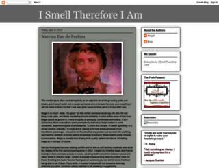 ismellthereforeiam.blogspot.fr screenshot
