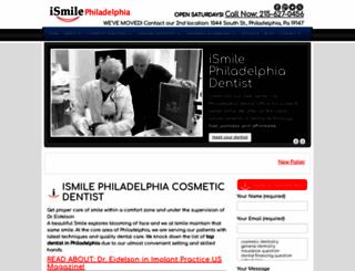ismilephiladelphia.com screenshot