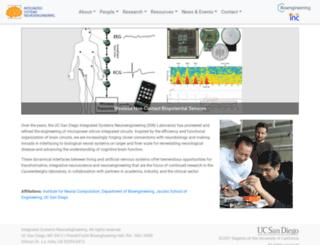 isn.ucsd.edu screenshot