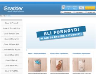isnadder.no screenshot