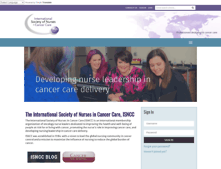 isncc.org screenshot
