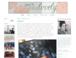 isntshelovelyblog.com screenshot