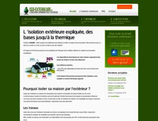 iso-exterieure.fr screenshot