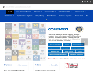 iso.ankara.edu.tr screenshot