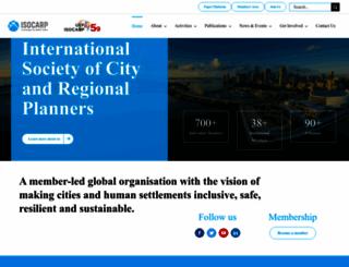 isocarp.org screenshot