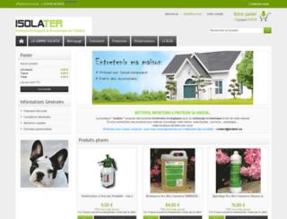 isolater.com screenshot