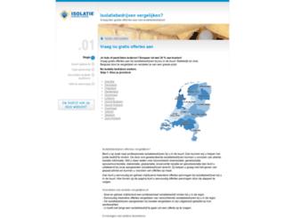 isolatie-vergelijken.nl screenshot