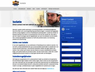 isolatie.kwieq.nl screenshot