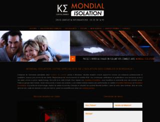 isolation-combles-bordeaux.com screenshot