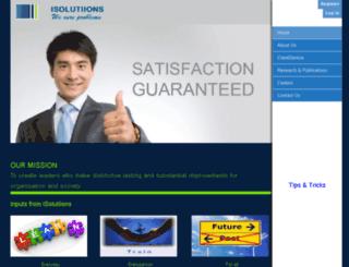 isolutiions.com screenshot