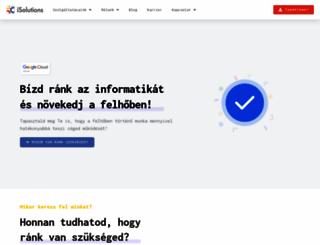 isolutions.hu screenshot