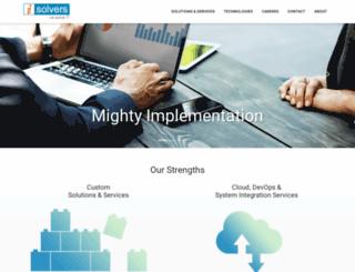 isolvers.com screenshot