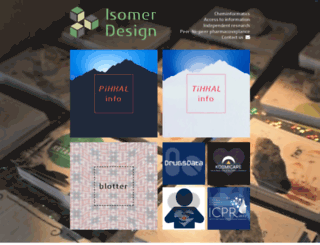 isomerdesign.com screenshot