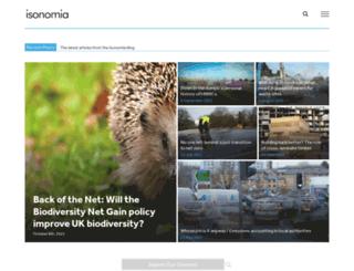 isonomia.co.uk screenshot