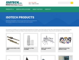 isotechinc.com screenshot