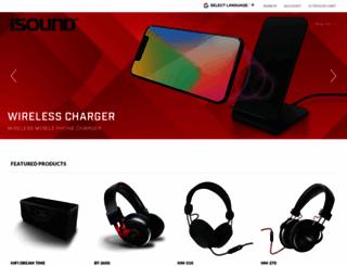 isound.com screenshot