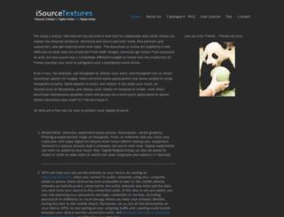 isourcetextures.com screenshot
