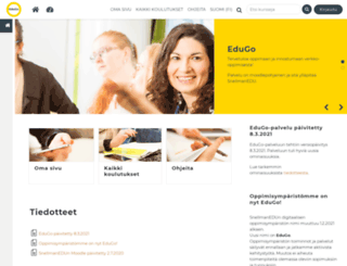 isoverstas.moodle.fi screenshot