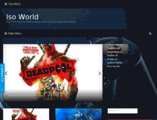isoworld.modsdlfree.com screenshot