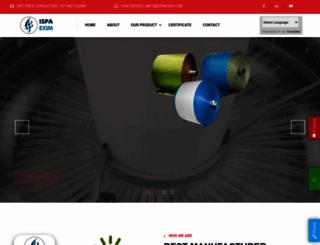 ispaexim.com screenshot