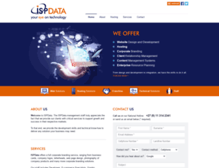 ispdata.co.za screenshot