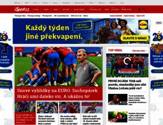 isport.blesk.cz screenshot