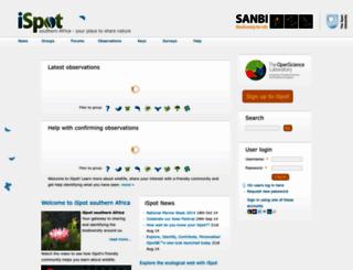 ispot.org.za screenshot