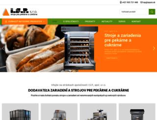 ispsro.sk screenshot