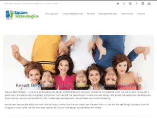 isquaredemo.com screenshot