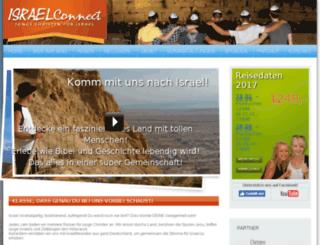 israelconnection.de screenshot
