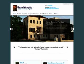 israelinsuranceagent.com screenshot