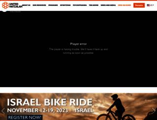 israelrescue.org screenshot