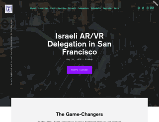 israelvr.splashthat.com screenshot
