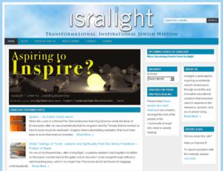 isralight.org screenshot