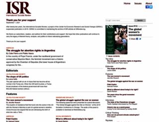 isreview.org screenshot