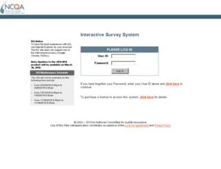 iss.ncqa.org screenshot