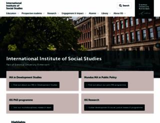 iss.nl screenshot