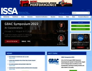 issa.com screenshot