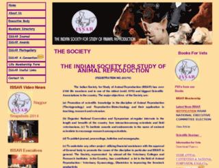 issar.org.in screenshot