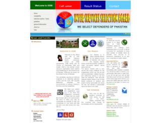 issb.com.pk screenshot