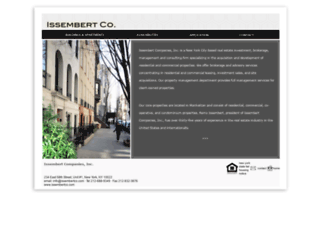 issembertco.com screenshot