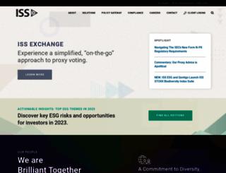 issgovernance.com screenshot
