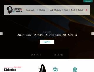 issmdonizetti.it screenshot